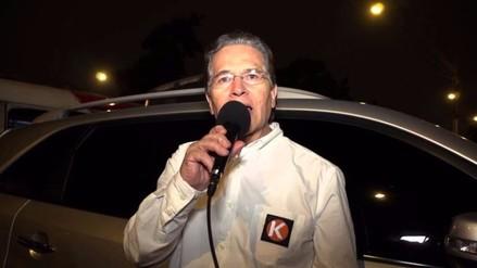 Vladimiro Huaroc apela fallo que lo excluyó de comicios