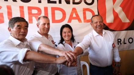 Fuerza Popular lidera preferencias al Congreso, un 33.6% aún no decide
