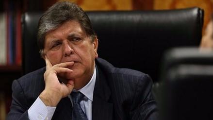 Presentan pedido de exclusión contra el candidato presidencial Alan García