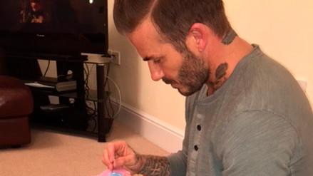 David Beckham conmueve al mundo con tierna foto