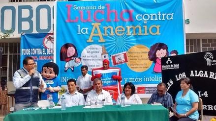 Promueven campaña contra la anemia mediante hierro en gotas