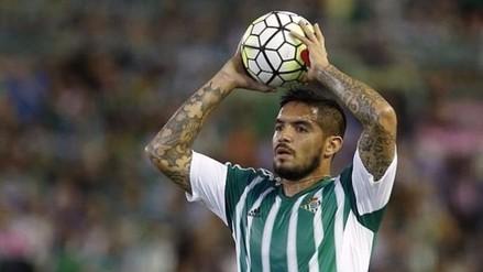 Facebook: Real Betis preocupado por lesión de Juan Vargas