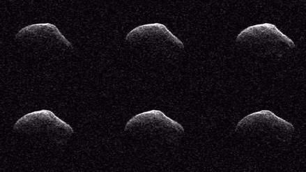 Facebook: NASA comparte imágenes del cometa que 'rozó' la Tierra