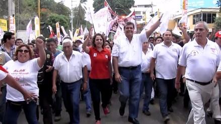 """Alan García en Piura: """"PPK es antiperuano o nos mira con desprecio"""""""