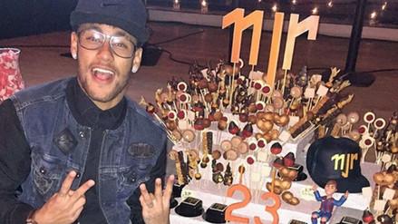 Neymar se fue de fiesta tras el empate entre Brasil y Uruguay (VIDEO)