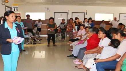 Diagnostican trece casos de cáncer uterino en el Hospital Regional de Lambayeque