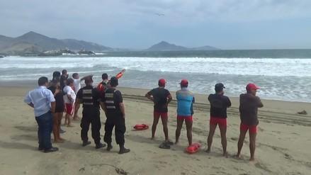 Chimbote: continúa la búsqueda de bañista desaparecido