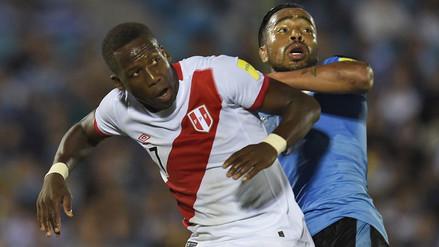 Perú perdió 1-0 ante Uruguay y no escapa de las últimas posiciones