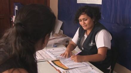 ODPE Trujillo entrega credenciales al 37% de miembros de mesa