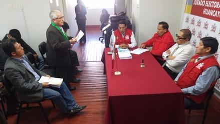 JEE de Huancayo deja al voto exclusión de Mauricio Vilca