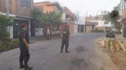 Hallan cartuchos de dinamita en patio de vivienda de San Martín de Porres