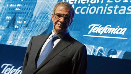 César Alierta dejó presidencia de Telefónica tras 16 años en el cargo