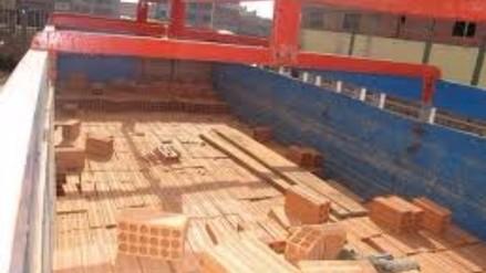 Ilave: incautan camión con ladrillos de contrabando provenientes de Bolivia