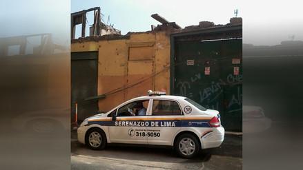 Lima: Casona es un peligro para transeúntes