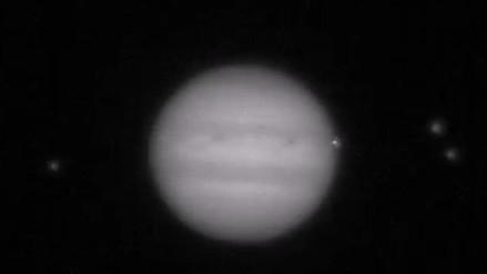 Astrónomos aficionados captan colisión de un objeto con Júpiter