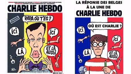 La respuesta satírica de los belgas a la portada de Charlie Hebdo