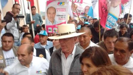 PPK en Cajamarca se pronuncia sobre Conga y Gregorio Santos
