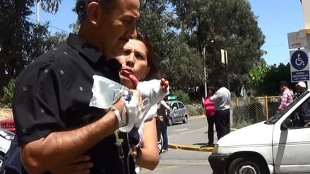 Ciudadano pierde la mano en sierra cortadora de carne