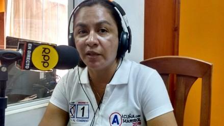"""Marisol Espinoza: """"Es una lástima esta inseguridad jurídica en las elecciones"""""""