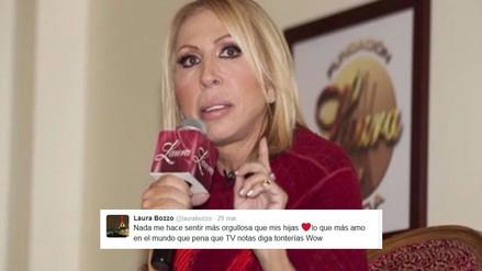 Twitter: esto dijo Laura Bozzo tras polémicas fotos