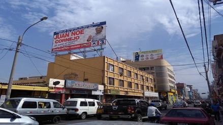 Chiclayo: JEE no sancionará a Noé Cornejo por colocar panel en Beneficencia