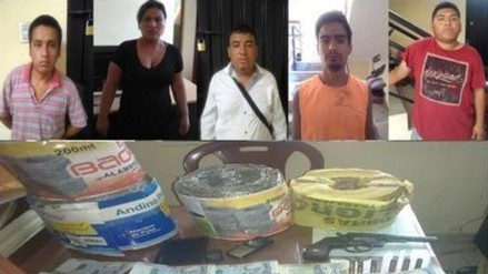 Trujillo: detienen a hijo de 'chino Malaco' y a 4 presuntos cómplices