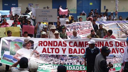 Rondas campesinas protestan contra el Gobierno Regional de Junín