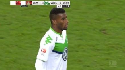 Selección Peruana: Carlos Ascues debutó en la Bundesliga en derrota de Wolfsburgo
