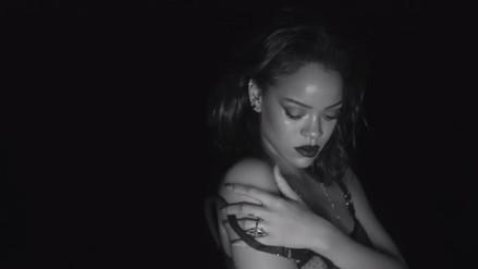 Rihanna presentó candente videoclip
