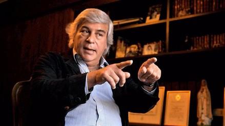 Olivera antes del debate con García: