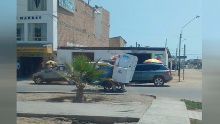 Punta Hermosa: Transportan material electoral sin seguridad