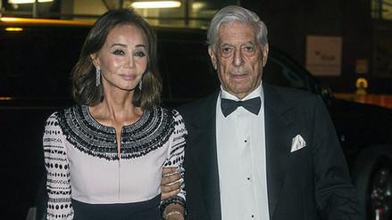 Vargas Llosa: Isabel Preysler ya pensó en el vestido de novia