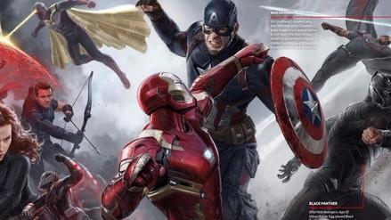 Civil War: nuevas fotos de Capitán América y Pantera Negra en acción