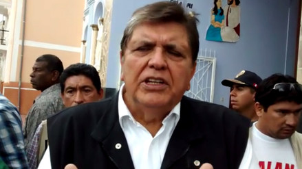Alan García muestra desconfianza por uso de voto electrónico