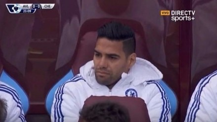 YouTube: el rostro de desconsuelo de Radamel Falcao tras debut de Pato