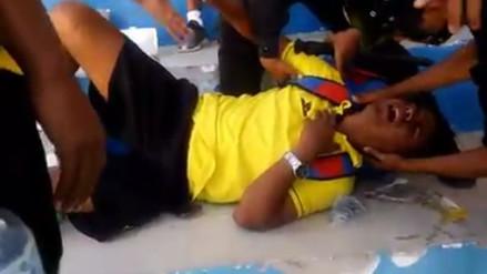 Alianza Atlético vs. Defensor La Bocana: barra agredió a Jairo Reaños