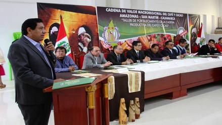 Gobierno Regional de Amazonas impulsa cadena de producción de café y cacao
