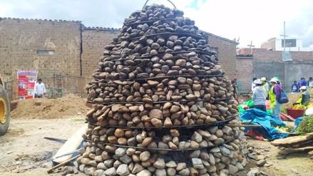 Huancayo: más de ocho mil personas degustaron la Pachamanca más grande del mundo