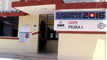 Piura espera llegada de material electoral a la sede ODPE
