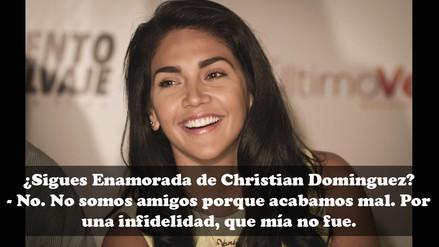 Vania Bludau: 6 revelaciones sobre Christian Domínguez