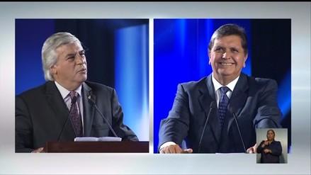 Olivera vs. Alan García: así fue el encuentro de candidatos