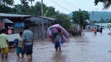 Tres viviendas destruidas tras intensas lluvias en Rioja