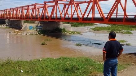 Ríos Reque y Zaña incrementaron su caudal tras intensas lluvias