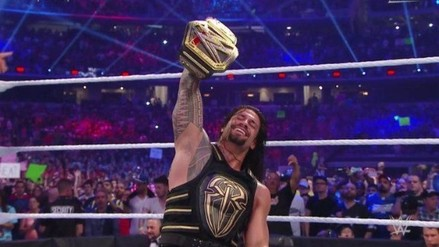 WWE WrestleMania 32: Roman Reigns venció a Triple H y ganó título mundial