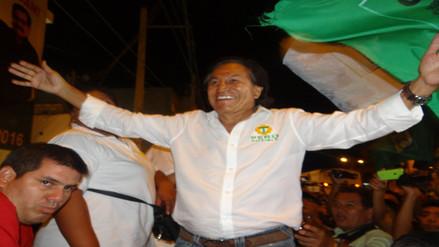 Alejandro Toledo realizó mitin de cierre de campaña en Iquitos