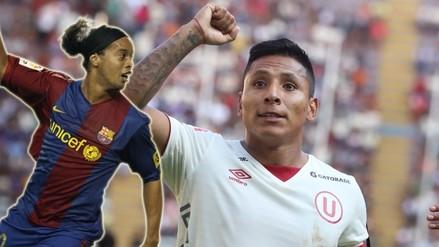 Ronaldinho: Raúl Ruidíaz entusiasmado con enfrentarlo en un clásico