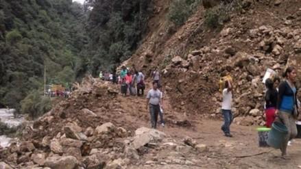 Gran Chimú: lluvias bloquearon carretera por más de tres horas