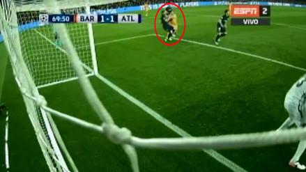 Barcelona vs. Atlético de Madrid: Luis Suárez agredió a Filipe Luis