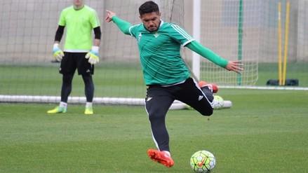 Selección Peruana: Juan Vargas volvió a trabajar con balón en Betis