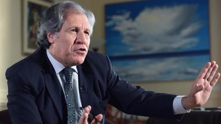 Secretario de la OEA reitera criticas al sistema de exclusiones del JNE